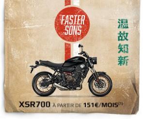 Offres de financement sur les XSR700 et XSR900
